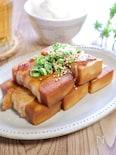 甘辛ジュ~シ~♡ご飯が進む『高野豆腐の満腹肉巻き』