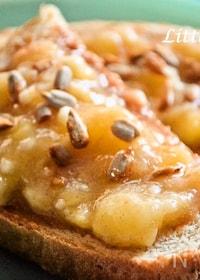『【アメリカのキッズに人気!】バナナんナッツトースト』