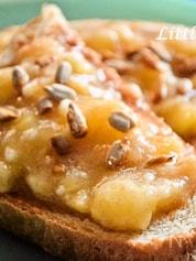 【アメリカのキッズに人気!】バナナんナッツトースト