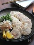 和風だしの鶏塩チャーシュー。