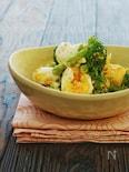 *ブロッコリーとアスパラとゆで卵の和風ごまマヨサラダ*