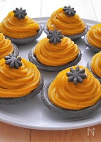 『スイートポテトとかぼちゃのミニタルト』