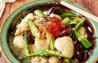『ヘルシースタミナ飯⭐︎』ささみと夏野菜の香味南蛮だれ