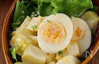 卵が主役!~白だし香る~じゃがいもとゆで卵の明太子マヨサラダ