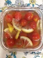 ミニトマトのデザートマリネ