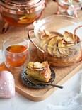 1番簡単♥メープルりんごの幸せケーキ♥ホットケーキミックス