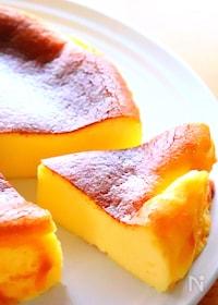 『バスク風チーズケーキの作り方』