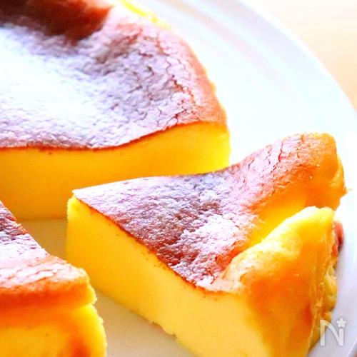 バスク風チーズケーキの作り方