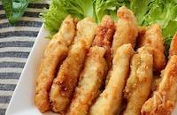食べやすくて止まらない♪鶏むね肉のカレー風味スティックチキン
