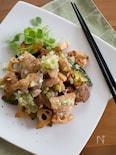 鶏肉と焼き野菜のねぎ塩レモンだれ