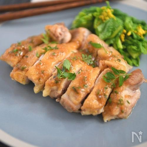【ご飯が進む!】鶏肉の山椒味噌焼き