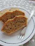 ホットケーキミックスで簡単☆バナナ&くるみパウンドケーキ