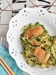 鶏皮ときゅうりのカリカリポン酢サラダ