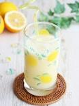 レモン風味でスッキリ美味しい!甘酒とパイナップルのスムージー