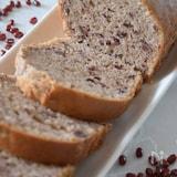 ホットケーキミックスで作る小豆のパウンドケーキ