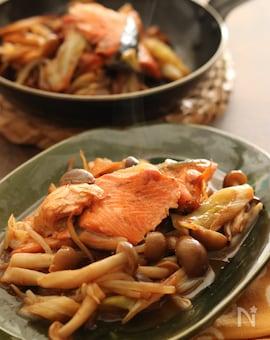 味噌バター香る! フライパンで作る鮭のちゃんちゃん焼き