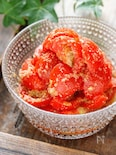 トマトの和風♡ごまおかかサラダ【#簡単 #スピード #無限】