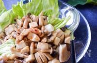 プリっと解凍!キノコと魚介の温サラダ