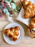 初心者向け!丸めて並べるだけのちぎって食べる葡萄パン