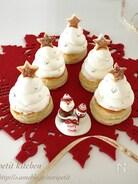 材料3つのふわふわレアチーズdeクリスマスツリーパイ♡