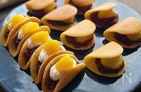 ホットケーキミックスで作る!色々ミニ栗どら焼き