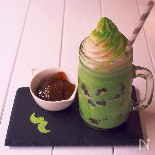 わらび餅入り☆抹茶フラペチーノ