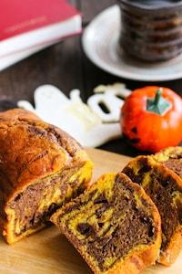 焼くまで10分♪ハロウィンにも♡【かぼちゃのパウンドケーキ】