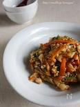 盛りだく野菜のマイルドトッポッキ
