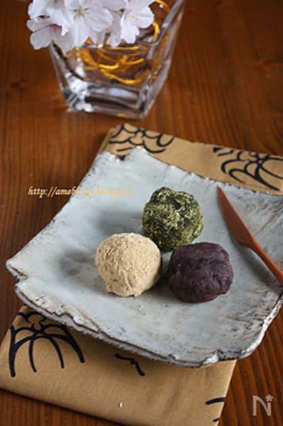 炊飯器で簡単ころころおはぎ By タラゴン Nadia ナディア