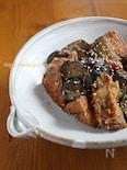 厚揚げと茄子の甘味噌炒め