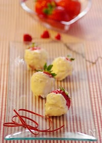 『【バレンタイン】ホワイト苺チョコ☆』
