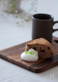 『炊飯器でお手軽チョコチップケーキ☆』