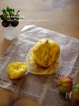 バター無かぼちゃとクリームチーズのマフィン☆