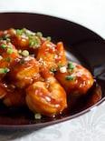定番☆海老のチリソース煮