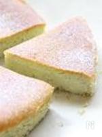 ピスタチオのベイクドチーズケーキ