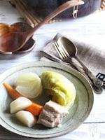 まるごと旬野菜のポトフ