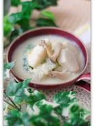 里芋と白菜の豆乳味噌スープ