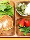 豆腐のミール(食事)パンケーキ