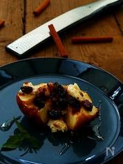 【魚焼きグリルで作る】紅玉の焼きりんご