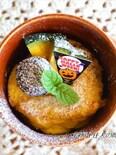 スライスチーズで作る!マグカップパンプキンチーズケーキ♪