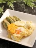 簡単!はじめての卵天 生卵の天ぷら