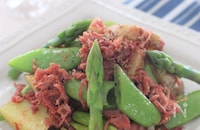 春野菜とコンビーフの炒め物