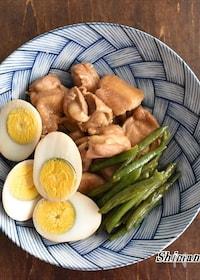 『焼肉のタレで簡単!鶏肉とゆで卵のこっくり煮』