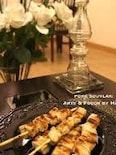 ギリシャ料理の定番 ポークスブラキ&レモンポテト
