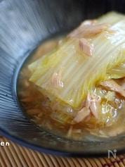 丸ごと白菜とツナのとろとろ煮