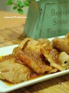 ジンジャーソースが決め手!豚の生姜焼き