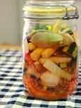ミニお野菜と風車草のピクルス