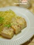 塩豚とキャベツのマスタード煮