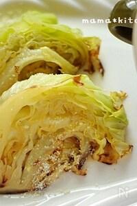 キャベツの塩バター