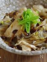 鶏むね肉の中華餡